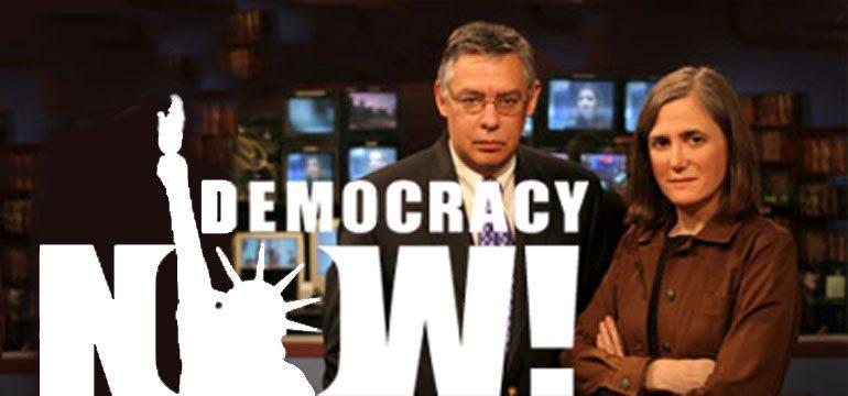 Democracy Now Logo, Juan and Amy