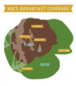 KBCS Coverage Map