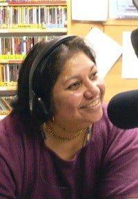 Samia Panni in KBCS studio