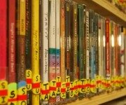 photo of cds in KBCS library
