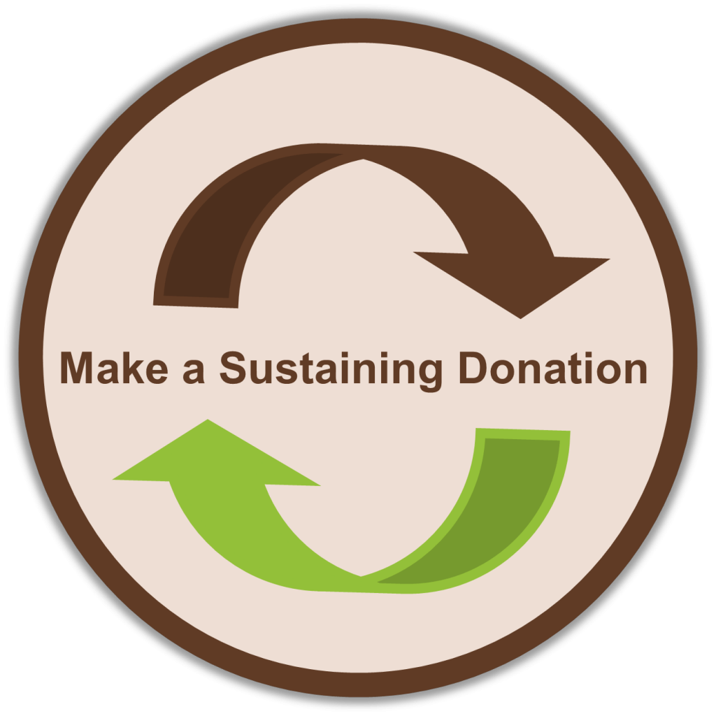 Make a Sustaining Donation