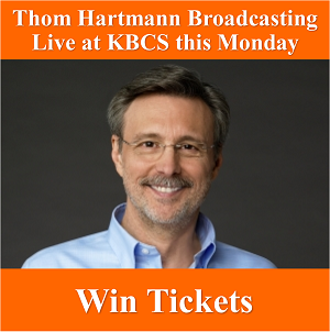 Win Thom Hartmann Tickets