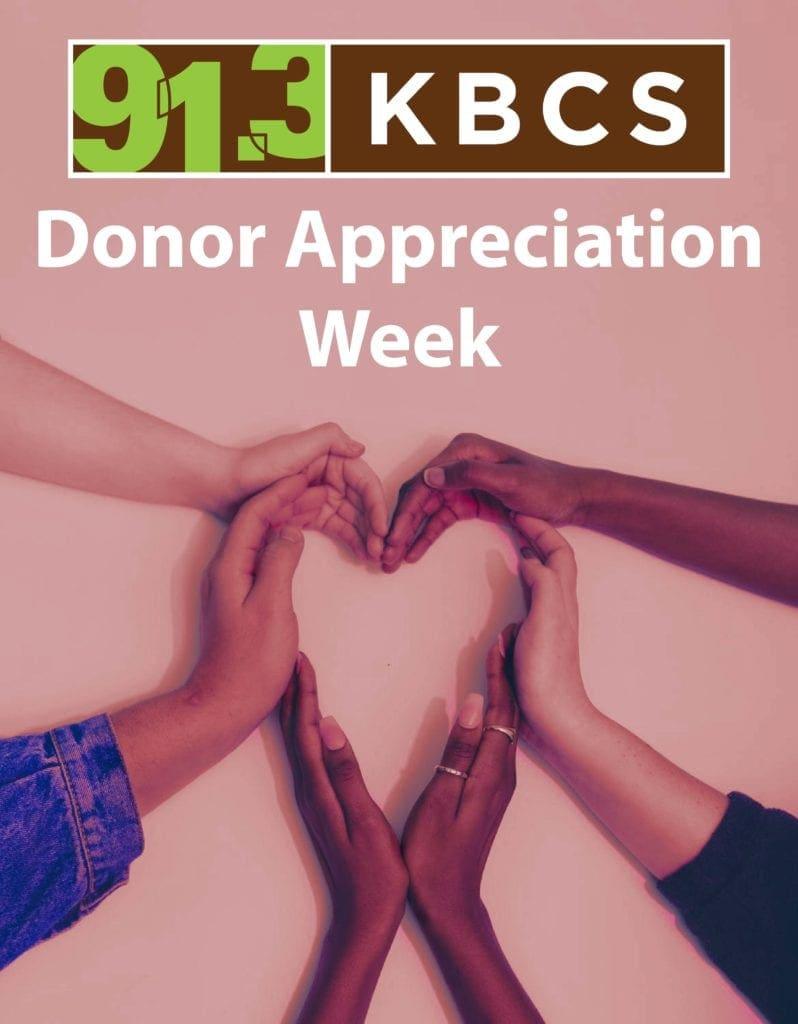 Donor Appreciation Week 2019
