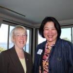 Beth Takekawa with Senator Patty Murray